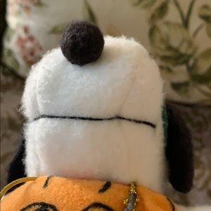 Vintage Toys - Snoopy in eye mask w hat pumpkin 🎃 costume doll